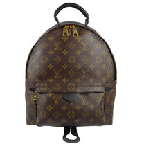 Louis Vuitton LV M41561 Palm Springs MM 經典花紋後背包 現貨