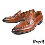 【Marelli】經典手工樂福紳士鞋 褐色(9-TAN)