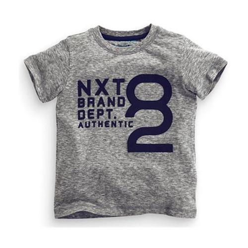 上衣 男童 簡約設計感 歐美經典兒童純棉短袖T恤(T085)