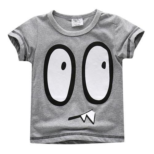 上衣 男童 大怪獸 歐美經典兒童純棉短袖T恤(T086)