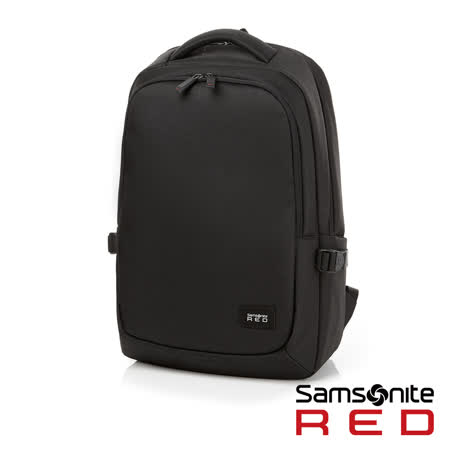 "Samsonite RED  TEDWIN  休閒時尚中性筆電後背包 14""(黑)"