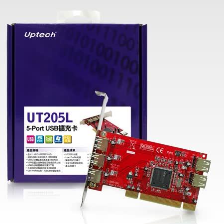 登昌恆 Uptech UT205L 5-Port USB擴充卡