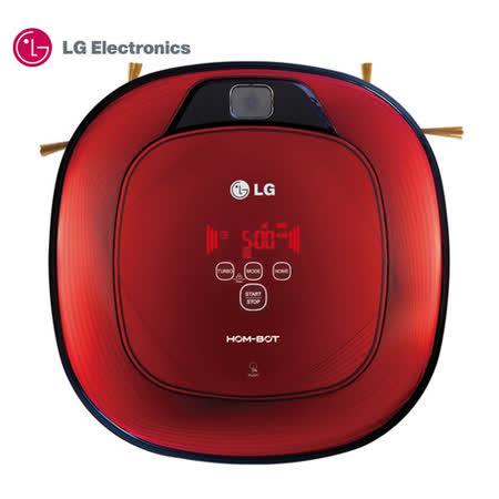 【LG 樂金】VR64702LVM 掃地機器人(紅色/好正款) ~加送超商禮券500.-