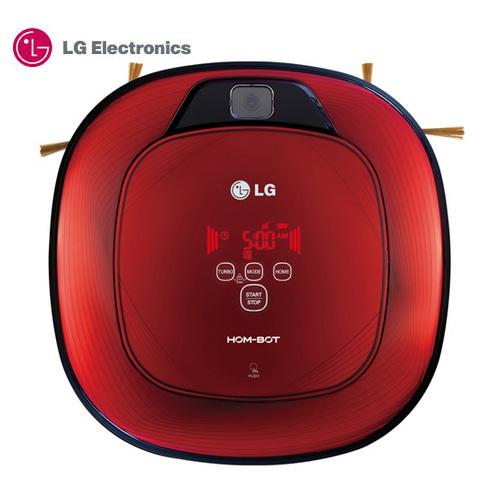 ~LG 樂金~VR64702LVM 掃地機器人^(紅色好正款^) ^~加送 禮券200