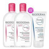 BIODERMA法國貝德瑪 高效潔膚液超值組 (買2送1)