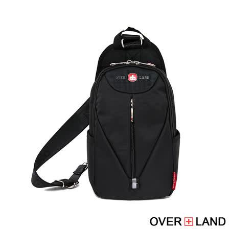 【OVERLAND】美式十字軍 - 保鑣機能款可調式單肩包 - 3130