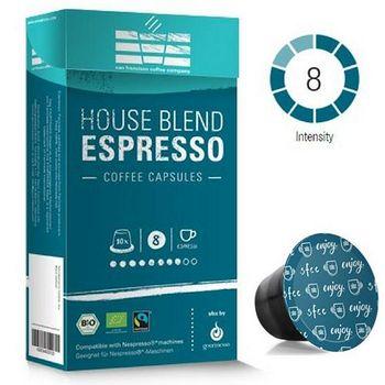 Gourmesso 德國精品膠囊咖啡-SFCC特調義式濃粹 *10顆(Nespresso 咖啡機適用)