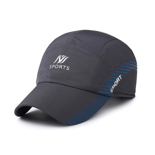 【幸福揚邑】保暖防風吸濕排汗透氣速乾護耳棒球帽鴨舌帽-灰色