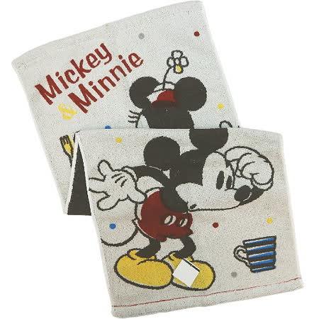【波克貓哈日網】迪士尼系列長巾◇米奇米妮圖案◇《34 x 81cm》