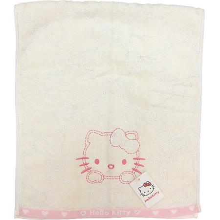 【波克貓哈日網】Hello kitty 凱蒂貓◇銀線蝴蝶結長巾◇《34 x 80cm》