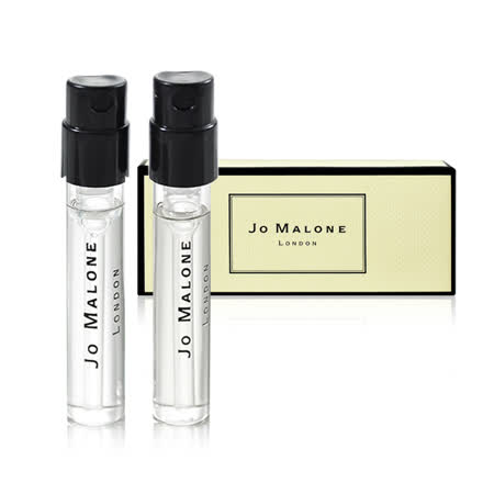 Jo Malone 針管香水 英國梨與小蒼蘭+青檸、羅勒與柑橘 1.5ml 兩入組