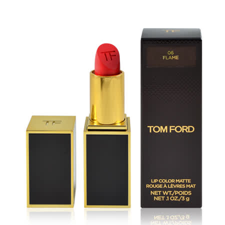 Tom Ford 霧感唇膏口紅 #06 Flame 3g Lip Color Matte