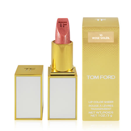 Tom Ford 白管唇膏口紅 #10 Rose Soleil 3g Lip Color Sheer