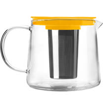 《IBILI》玻璃濾茶壺(黃1500ml)