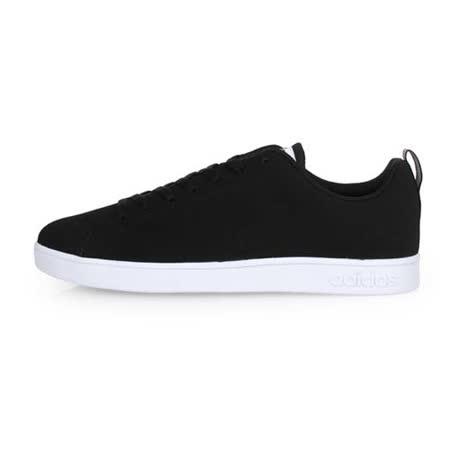 (男) ADIDAS VS ADVANTAGE CLEAN 休閒鞋 黑白