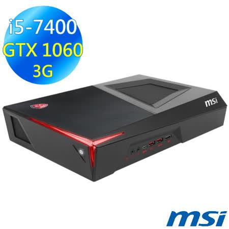 MSI Trident 3【海神戰戟】VR7RC-039TW (i5-7400/8G/1TB+128G/GTX1060/Win10)