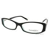 Tiffany & Co.光學眼鏡 水鑽鑰匙款(黑-銀) #TF2047B 8055