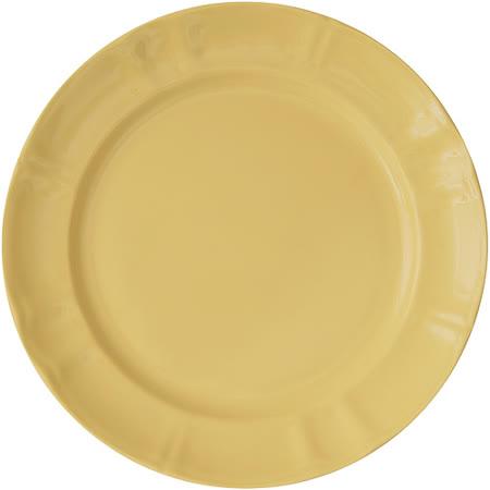 《EXCELSA》Chic陶製淺餐盤(奶油黃27cm)