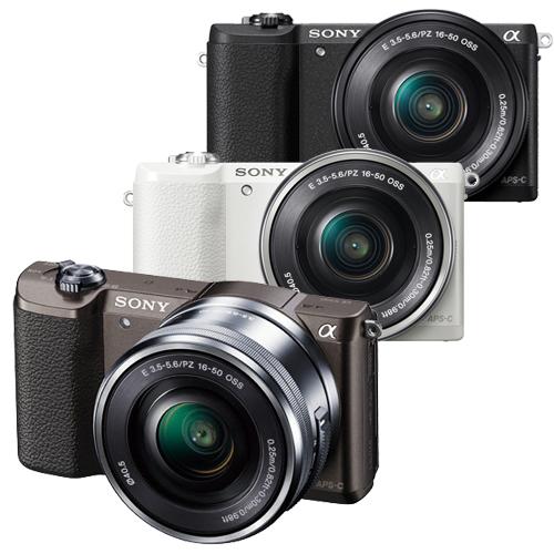 SONY A5100L 16~50mm單鏡組^( 貨^)~送32G 高速卡 座充 相機包