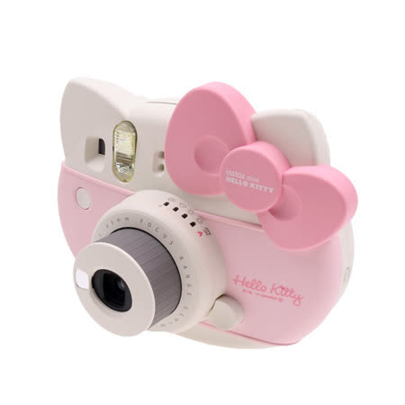 FUJIFILM instax mini HELLO KITTY 拍立得(公司貨)★kitty超值套餐組合★