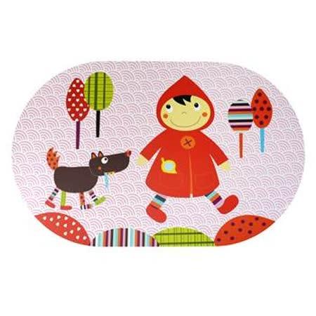 法國ebulobo-小紅帽防水餐墊