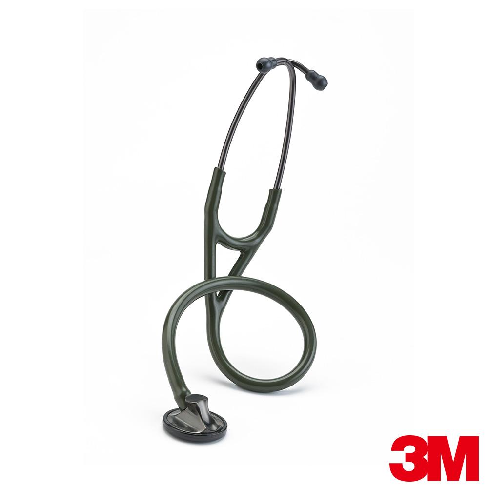 3M™ Littmann® 2182 心臟科精密型聽診器~橄欖綠色管煙燻黑聽頭