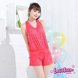 【LOVETEEN夏之戀】甜美桃紅外搭罩衫A15705