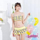 【LOVETEEN夏之戀】可愛甜心比基尼三件式泳衣A15709