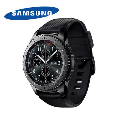 SAMSUNG Gear S3 Frontier 冒險家(SM-R760NDAABRI) 橡膠錶帶