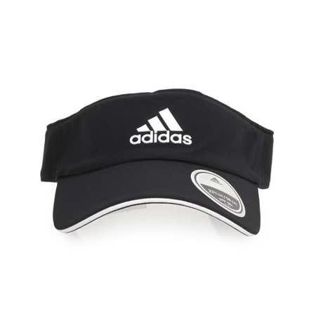 ADIDAS 中空帽-空心帽 帽子 遮陽帽 防曬 黑淺藍 F