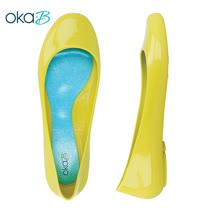 【OkaB】TAYLOR經典款亮面娃娃鞋/包鞋 黃色(k0524TA-YE)