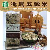 池上農會 池農五穀米 養生食米的最佳選擇 (1kg / 包)x2包組