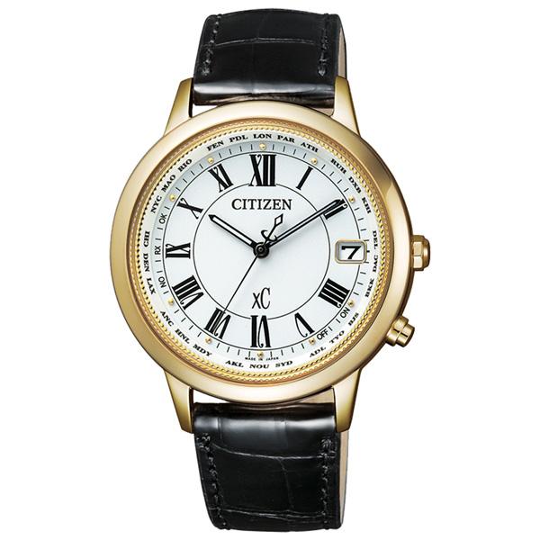 CITIZEN xC 戀之梵蒂岡電波時計腕錶-大-CB1103-08A