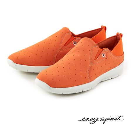 Easy Spirit--超輕量透氣休閒鞋--活力橘
