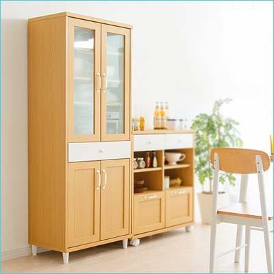 櫥櫃/收納櫃廚房收納/日本熱銷/北歐自然輕色系列【天空樹生活館】(f4)