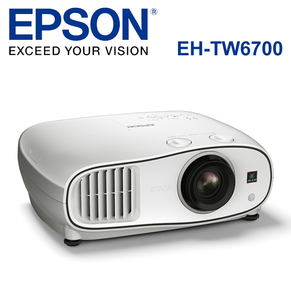【EPSON 台灣愛普生】 EH-TW6700 1080P 3D家庭劇院投影機