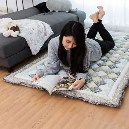 韓國加厚布藝地毯榻榻米饅頭墊(六款可選)