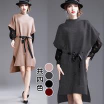 【歐風KEITH-WILL】雅致名伶繫帶款個性洋裝