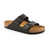 勃肯BIRKENSTOCK 051791。ARIZONA亞利桑那 經典二條拖鞋(黑)