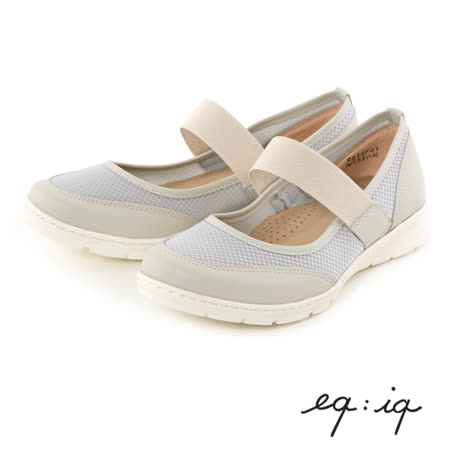 eq:iq--輕量瑪莉珍休閒鞋--輕量灰