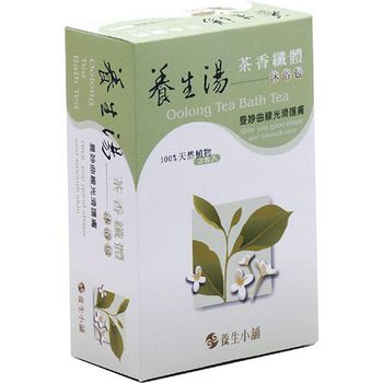 【效期品】養生小舖 茶香浴 養生湯/藥浴包/泡湯包 (40g * 3包/盒)