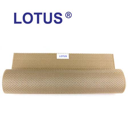 【LOTUS樂德】時尚系列-玫瑰金竹葉餐桌墊(2入)