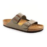 勃肯BIRKENSTOCK 151211。ARIZONA亞利桑那 經典二條拖鞋(石頭灰)