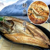 買1送1組【築地一番鮮】挪威鯖魚一夜干5尾(380g/尾)免運組
