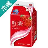 ★超值兩件組★J-福樂鮮攪草莓奶茶375ML