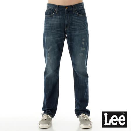 Lee 中腰舒適小直筒牛仔褲