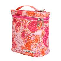【美國JuJuBe媽咪包】FuelCell保溫保冷袋-Perfect Paisley 粉紅搖滾