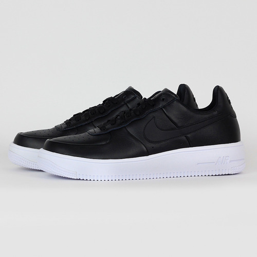 NIKE 男 AIR FORCE 1 ULTRAFORCE LTHR 休閒鞋 黑 845052001