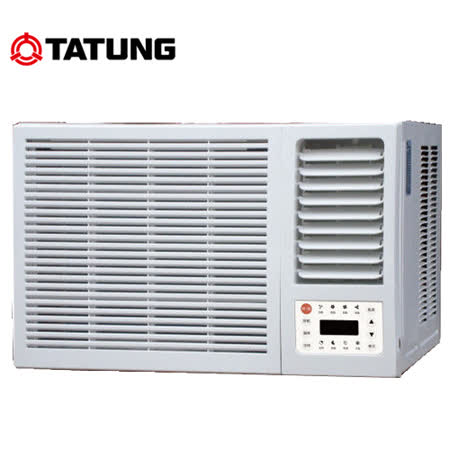 【TATUNG 大同】3坪定頻窗型冷氣 TW-202DKN (含基本安裝)~2017/5/31以前購買享好禮五選一!
