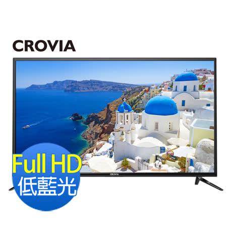 【CROVIA】49型高規FullHD LED液晶顯示器+視訊盒(49CR-DF1)含基本安裝
